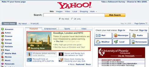 Yahoo FP